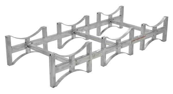 Galvanized Steel Stackable Drum Racks