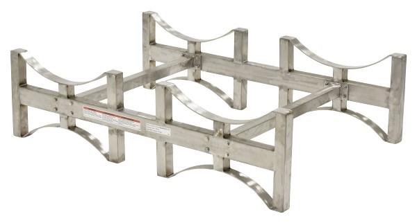Stackable Stainless Steel Drum Rack