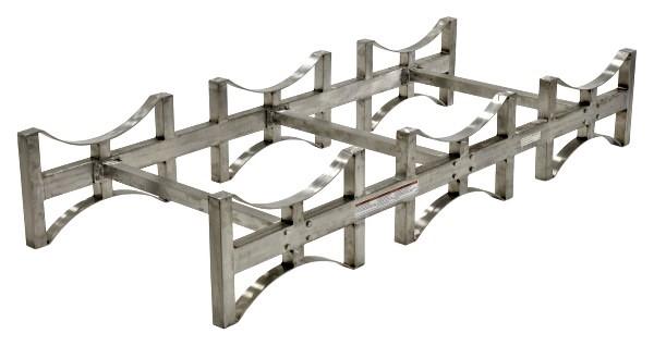 Stainless Steel Drum Storage System