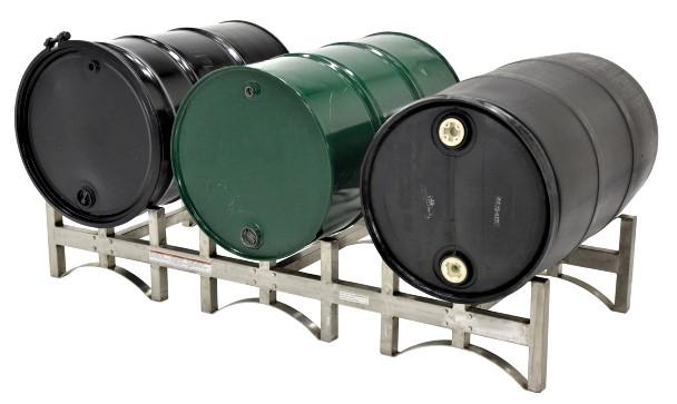 Vestil DRUM-RACK Stainless Steel Stackable Drum Rack