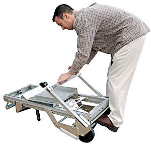 Vestil PALL-200 Portable Aluminum Load Lifter
