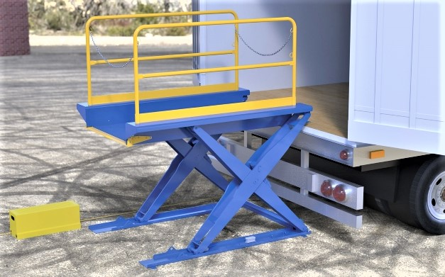 Lift Table with Handrails