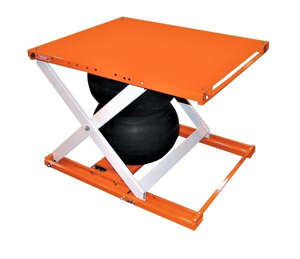 Vestil ABLT-H Air Bag Lift Table with Optional Platform