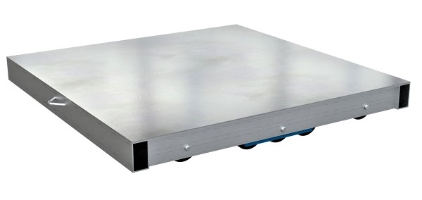 Vestil DOL-ST Solid Top Aluminum Pallet Dolly