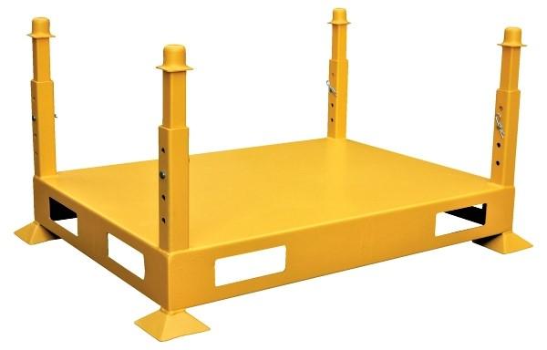 Versa Rack V-1 Base with feet and adjusting posts