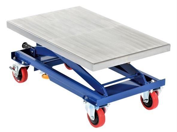 Hand Crank Scissor Lift Cart