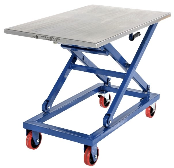 Vestil CART-1000-M Mechanical Scissor Cart