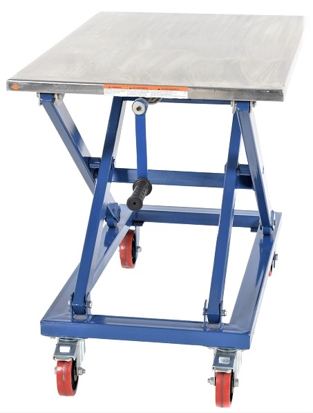Mechanical Scissor Lift Cart