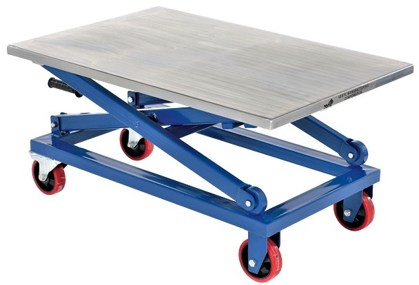 Manual Scissor Lift Cart