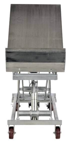 Partial Stainless Steel Cart