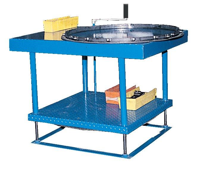 Vestil ERG Adjustable Height Work Table