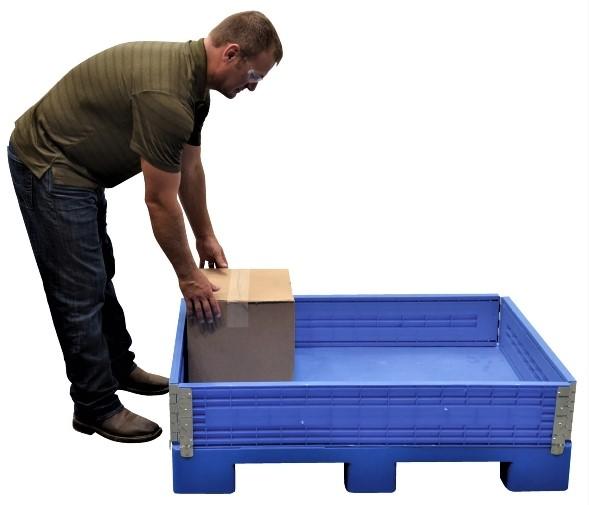 Vestil MULTI-C Multi-Height Container