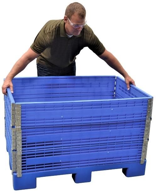 Adjustable Height Container