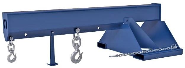 Vestil Lm 1nt 8 24 Non Telescoping Forklift Boom For Sale Hof Equipment Co
