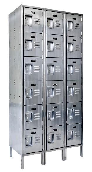 Vestil LOCK-3618-SS63 Stainless Steel Locker