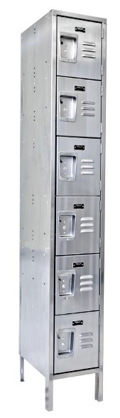 Vestil LOCK-1818-SS61 Stainless Steel Storage Locker