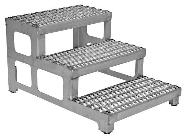 Vestil ASP-24-3-SS Stainless Steel Step Stand