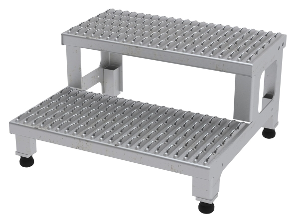 ASP-24-SS Adjustable Stainless Steel Step Stand