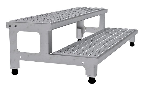 ASP-48-SS Adjustable Stainless Steel Step Stand