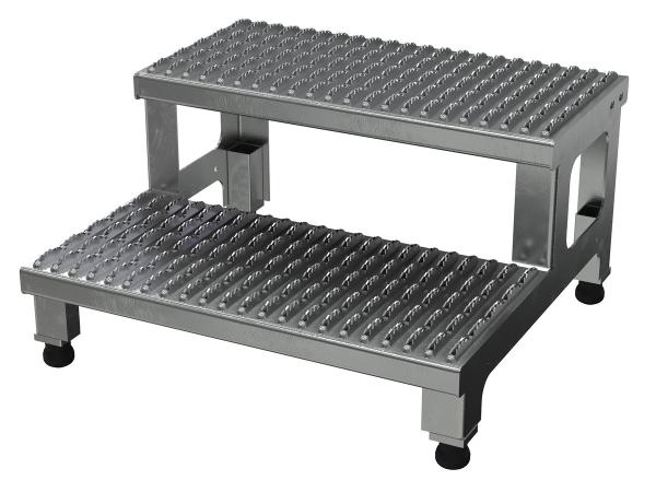 Vestil ASP-24-A Aluminum Step Stand
