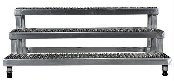 Vestil ASP-48-3-A Aluminum Step Stand