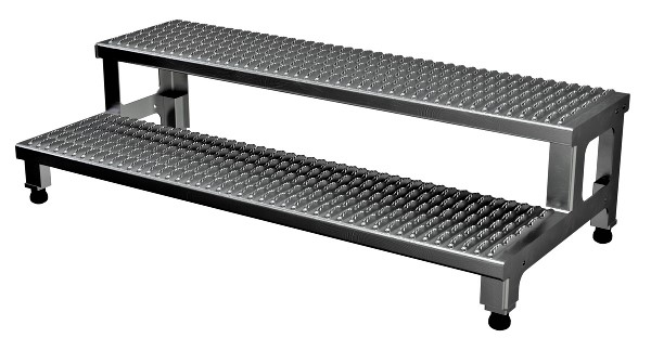 ASP-48-A Adjustable Aluminum Step Stand