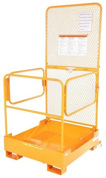 Vestil WP-3737-FD Forklift Work Platform