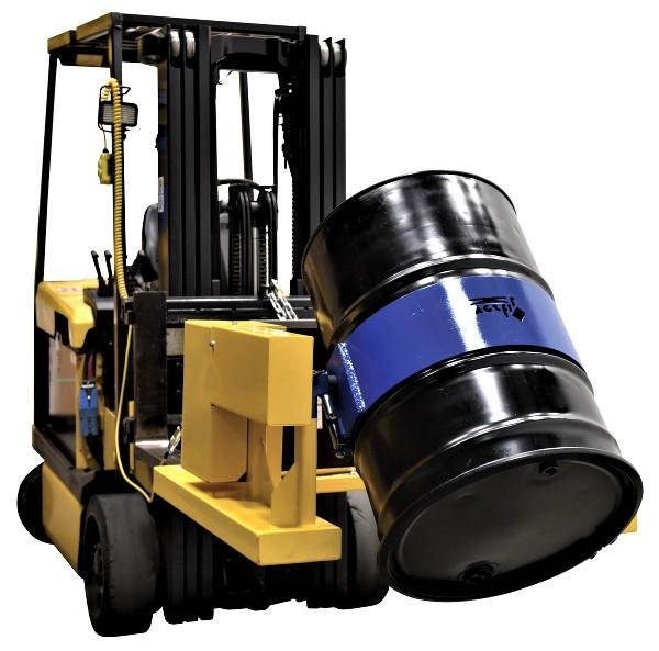 Vestil Electric Forklift Drum Dumper