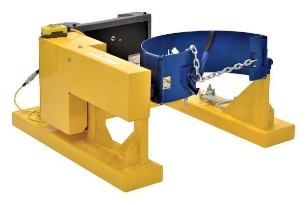 Vestil DCR-205-8 Electric Forklift Drum Dumper
