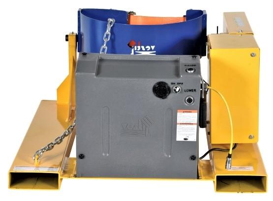Electric Forklift Drum Rotator