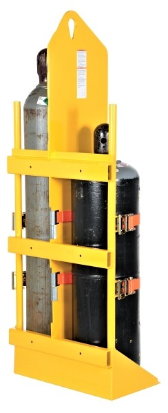 CYL-W Wall-Mounted Cylinder Rack