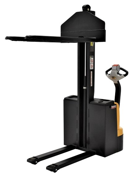Vestil SNM-62-FF-21 Narrow Mast Electric Pallet Stacker