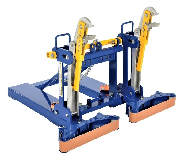 Vestil FMDL-2-LDS-B1 Automatic Eagle Beak Drum Handler with Belt