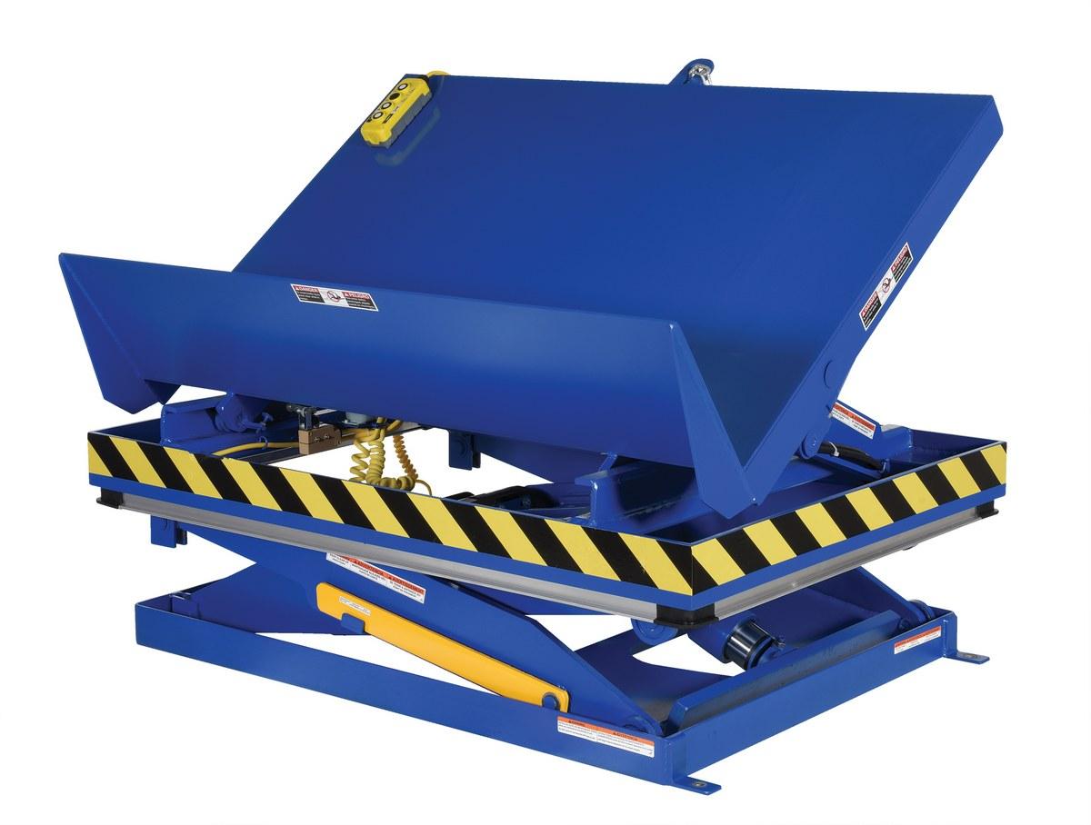 Vestil EHLTTS 45 Degree Lift and Tilt Table