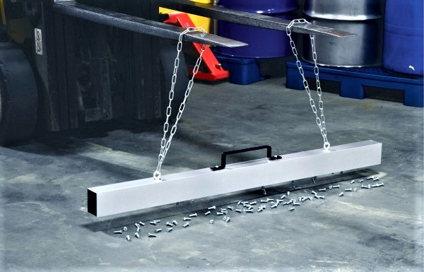 Vestil MS-48 Forklift Hanging Magnetic Sweeper