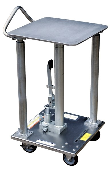 Vestil HT-05-1818A-PSS Partial Stainless Steel Post Table