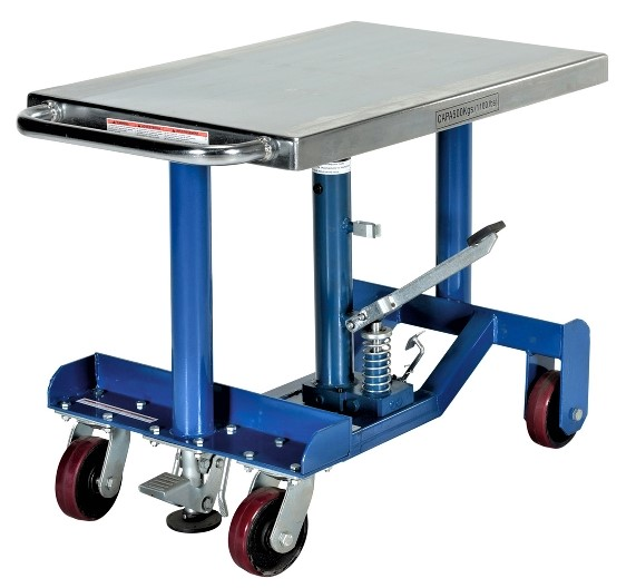 Vestil PT12-10 Manual Hydraulic Post Table