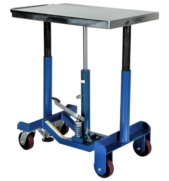 Low Profile Manual Hydraulic Post Table