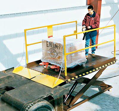 Vestil WL-100-10 Dock Lift