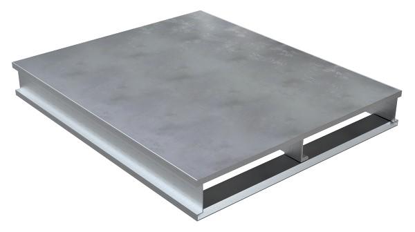 Vestil AP-ST-4048 Solid Top Aluminum Pallet - 2 Way Entry