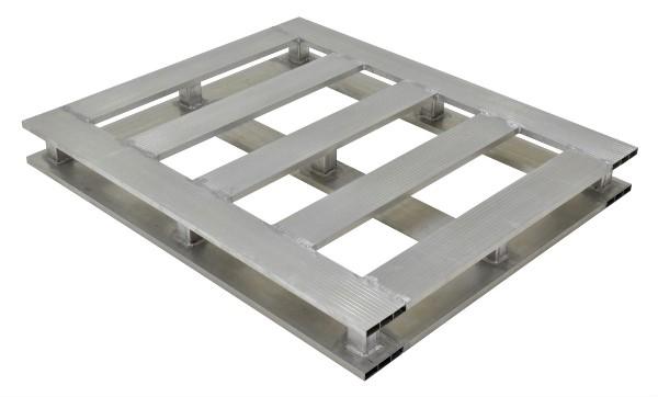 Vestil AP-4048-4W Aluminum Pallet - 4 Way Entry
