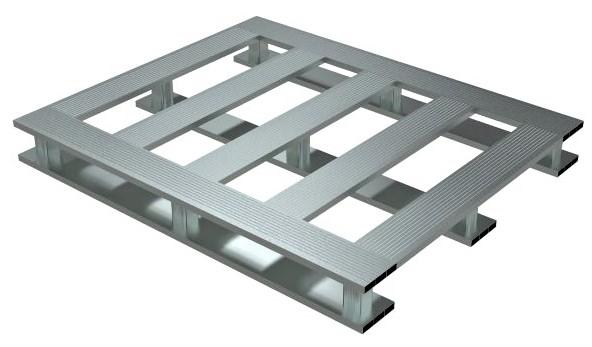 Vestil AP-4048-SB Aluminum Open Bottom Pallet