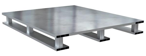 Vestil AP-ST-4048-SB Aluminum Open Bottom Pallet
