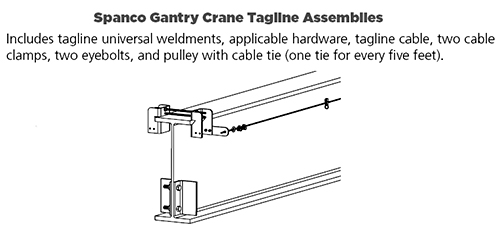 Optional Tag Line Assembly