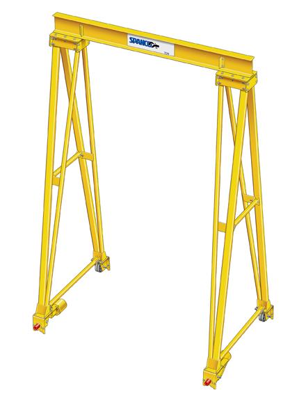 Spanco PF Steel Gantry Crane