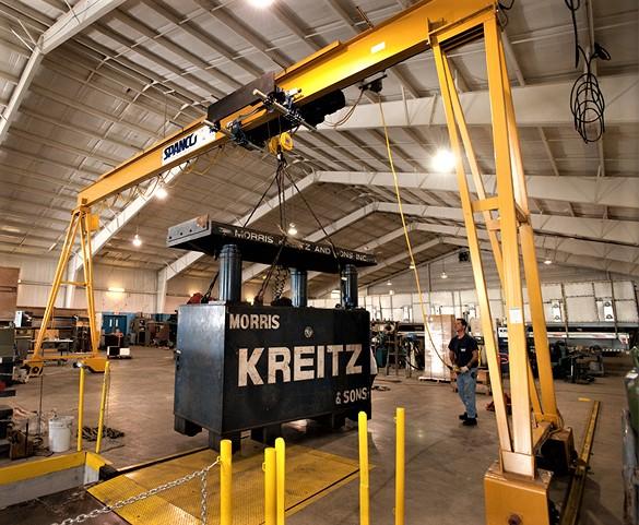 Spanco 5 Ton Portable Gantry Crane
