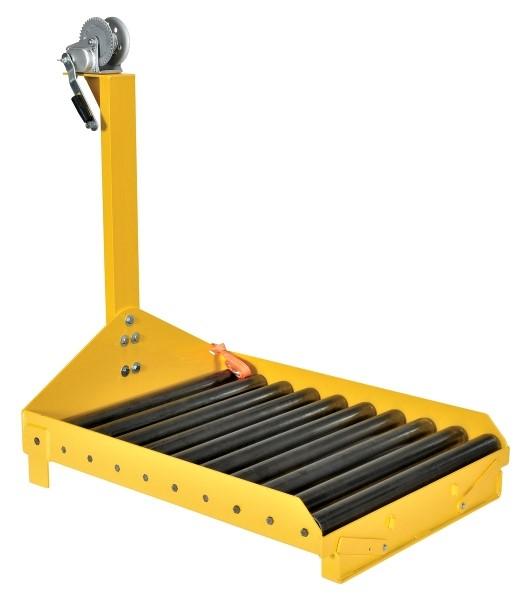 Vestil BTC-PJ-WINCH Forklift Battery Transfer Cart