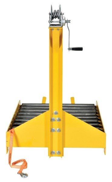BTC-PJ-WINCH Forklift Battery Transfer Cart with Winch