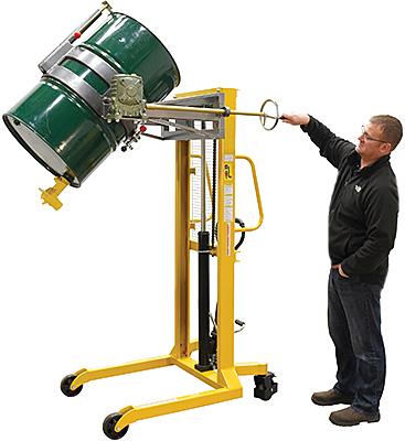 Vestil DRUM-LRT-EC Portable Drum Rotator