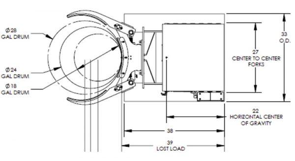 F89705 Maxi-Grip Drum Handler Drawing